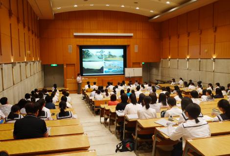 オープンキャンパス時のミニ講義