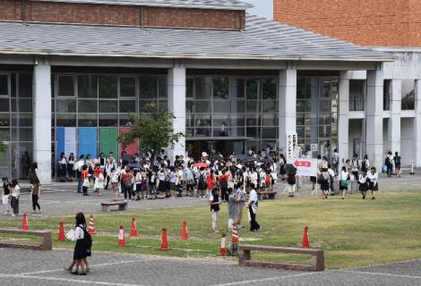 オープンキャンパスの風景